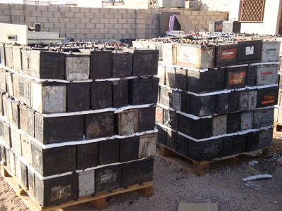 LEAD ACID BATTERIES WHOLE USED